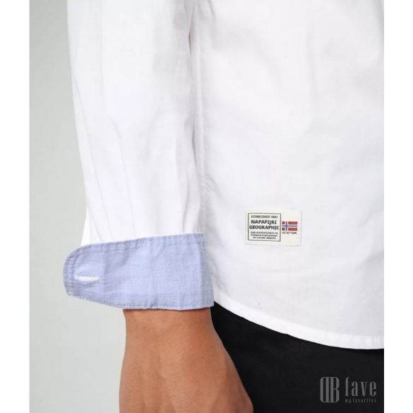 Napapijri ● Ging ● fehér hosszú ujjú ing