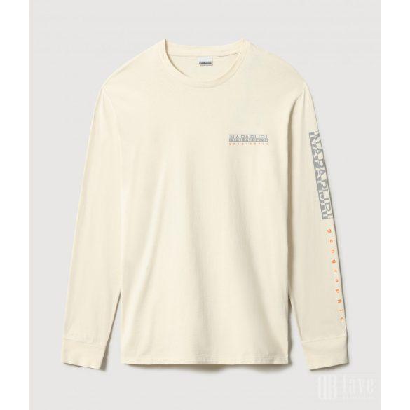 Napapijri ● S-Roen ● törtfehér hosszú ujjú póló