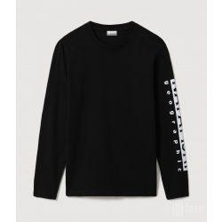 Napapijri ● Sadas ● fekete hosszú ujjú póló