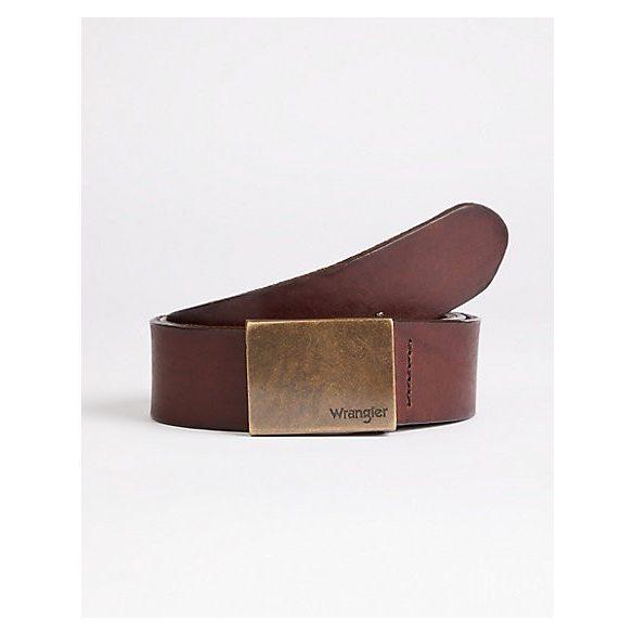 Wrangler ● Plate Buckle Belt ● barna bőröv