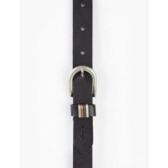 Wrangler ● Loop Detail ● fekete bőröv