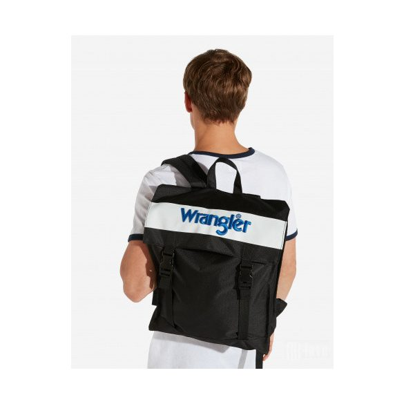 Wrangler ● New Backpack ● fekete hátizsák