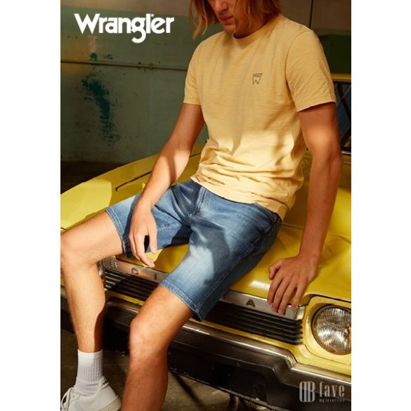 Wrangler ● Texas Short ● kék koptatott farmer bermuda