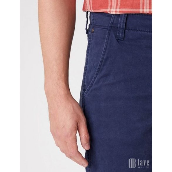 Wrangler ● Casey Chino Short ● kék vászon bermuda