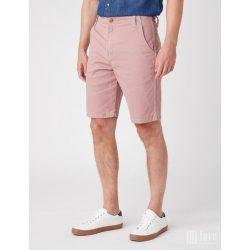Wrangler ● Casey Chino Short ● rózsaszín vászon bermuda