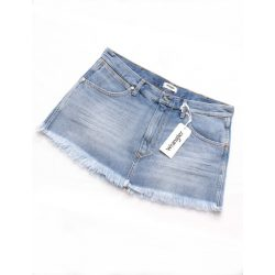 Wrangler ● Retro Crop ● világoskék farmer miniszoknya