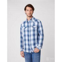 Wrangler ● LS Western Shirt ● kék kockás hosszú ujjú ing