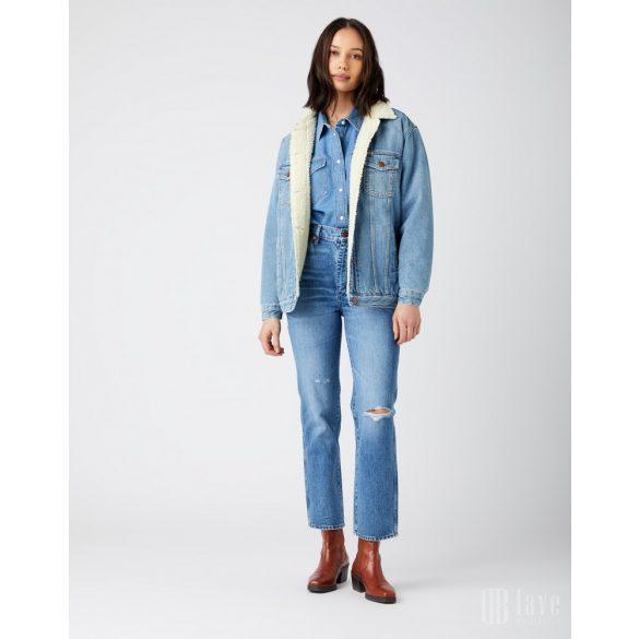 Wrangler ● Heritage Shirt ● kék hoszú ujjú farmering