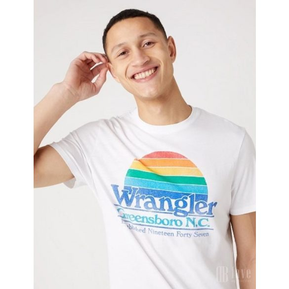 Wrangler ● SS Graphic Tee ● fehér rövid ujjú póló