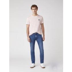 Wrangler ● Sign Off Tee ● rózsaszín rövid ujjú póló