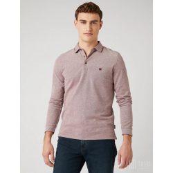 Wrangler ● LS Refined ● bordó hosszú ujjú piké póló