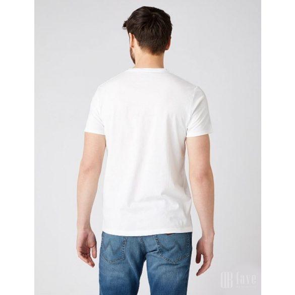 Wrangler ● SS Americana Tee ● fehér rövid ujjú póló