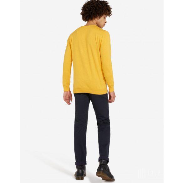 Wrangler ● Crewneck Knit ● sárga kötött pulóver