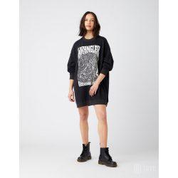 Wrangler ● Sweat Dress ● fekete oversize pulóver fazonú ruha